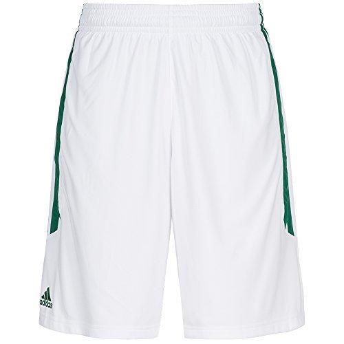 Adidas-Pantaloncini da basket o22292, bianco, XLT