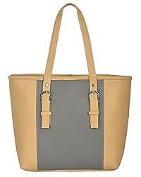 Fostelo Women's Vancouver Shoulder Bag (Beige) (FSB-593)