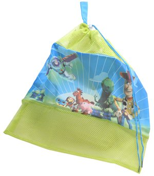 Image of Children's Disney Toy Stor Childrens Drawstring Tidy Bag For Kids Bedrooms