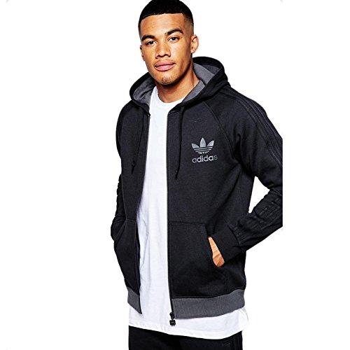 adidas SPO Full Zip Sweatshirt, schwarz, XL -