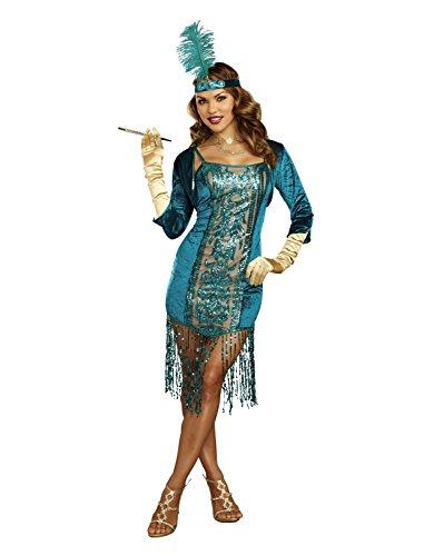 Dreamgirl 10701High Society Kostüm, Mittel (High Society Kostüm)