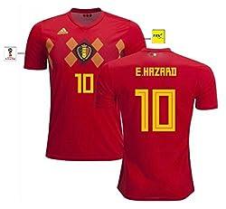 Trikot Herren Belgien WM 2018 Home - Hazard 10 (L)