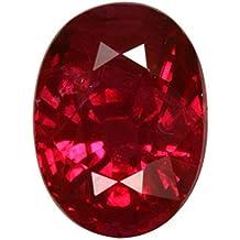 S KUMAR GEMS & JEWELS Certified Natural Ruby (manik) Gemstone 9.25 Ratti