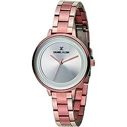 Daniel Klein Analog Silver Dial Women's Watch-DK11373-1