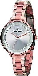 Daniel Klein Analog Silver Dial Womens Watch-DK11373-1