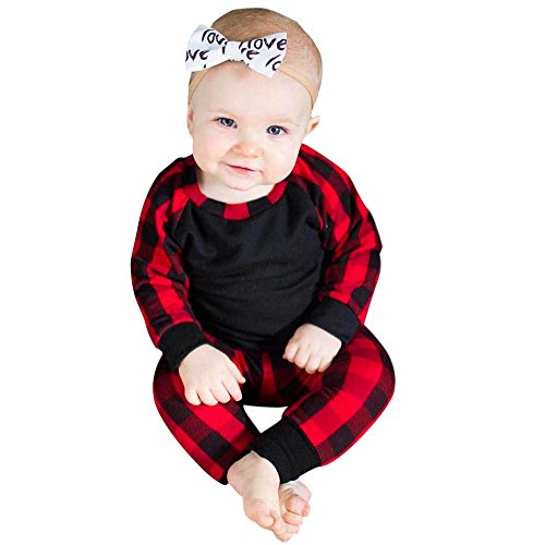 Btruely 2Pcs Neugeborene Kleidung Set Baby Junge Mädchen -