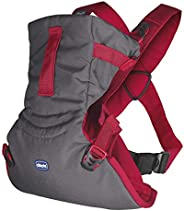 Chicco EasyFit Baby Carrier, Paprika, Carrier for Newborn Babies and Toddlers, 0-9 kg, 0m+ (Red)