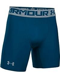 Under Armour HG 2.0 Comp Short, Pantalones Cortos Deportivos, Hombre, Azul oscuro (Blackout Navy), Large