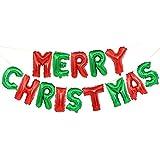 Ogquaton Frohe Weihnachten Brief Ballons Weihnachtsfeier...