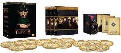 Le Seigneur des Anneaux - Coffret de la Trilogie - Version Longue - Blu-Ray