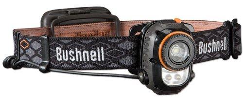 Bushnell Unisex h150l Scheinwerfer, Unisex, Rubicon Headlamp - 3aa, Small, Red Halo, Optics, schwarz/orange (Halos Orangen)