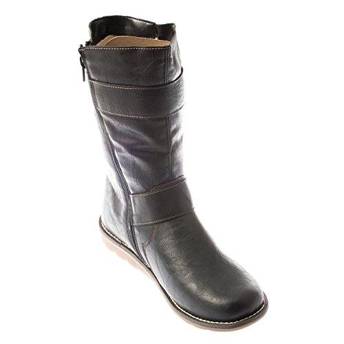 Remonte Womens Stiefel R1070-01-asphalto Schwarz