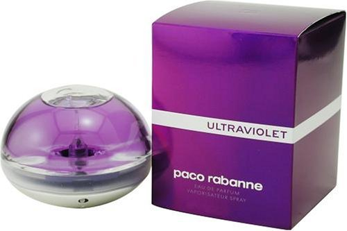 Ultraviolet By Paco Rabanne For Women. Eau De Parfum Spray 2.7 Ounces