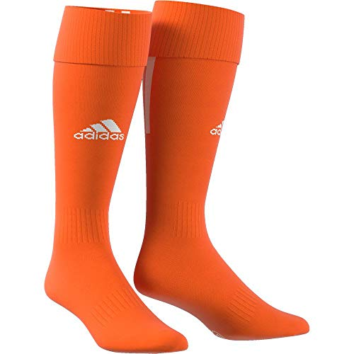 adidas Erwachsene Santos 18 Socken, Orange/White, EU 43-45