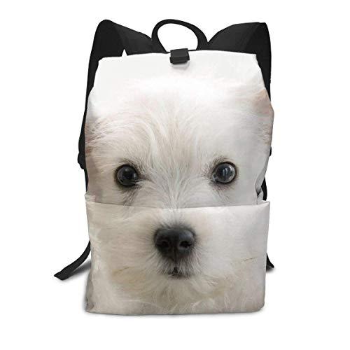 Baby Hund Rucksack Mitte für Kinder Jugendliche Schule Reisetasche