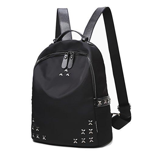 Doppelte Umhängetasche/College-Wind-Tasche/Einfache Joker wasserdichte Reisetasche/ Nylon-Rucksack-A A