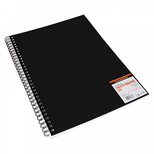 Daler-Rowney Skizzenbuch für Kunststudenten A3 Hochformat Hardcover Spiralbindung