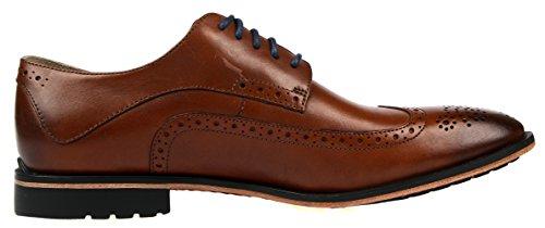 Clarks Gatley Limit, Derbies à lacets homme Marron (Tan Leather)