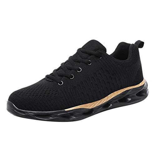TWISFER Herren Schuhe Leichte Laufschuhe Schnürschuhe Atmungsaktiv Männer Jungen Casual Sneakers Sportschuhe Laufschuhe Sommerschuhe