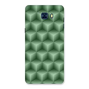 Neo World Green Pentagrams Back Case Cover for Samsung Galaxy C7 Pro