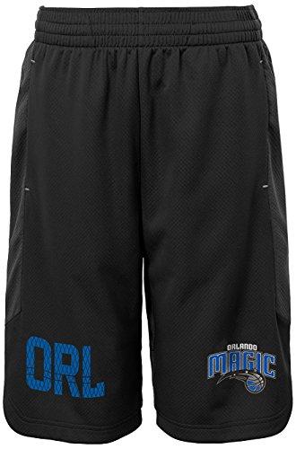 Outerstuff NBA Kids & Youth Jungen Jump Ball Kurze Orlando Magic-Charcoal-Größe XL (18)