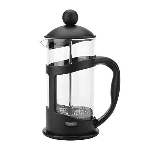 Cafetera francesa de vidrio de acero inoxidable Olla de