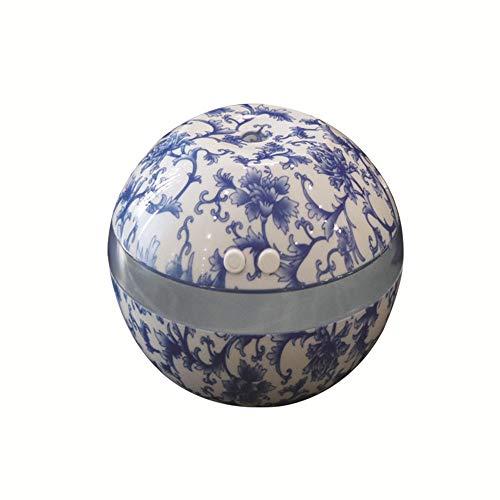 STRIR 300ml Humidificador Aromaterapia Ultrasónico, Difusor de Aceites Esenciales,LED,Seguro y Elegante, purificar el aire y mejorara el aire seco