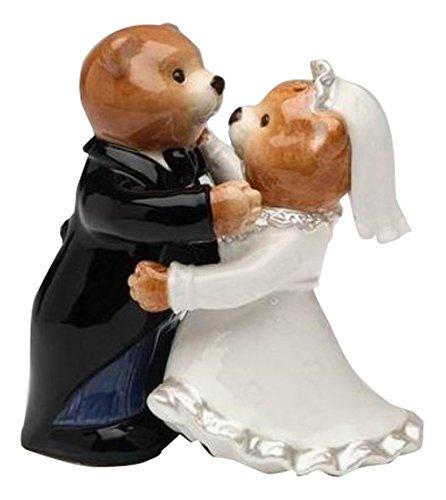 Cg 10329 Ours mariée en robe de mariage et Groom Sel et Poivre