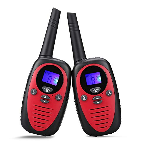 HIEHA Walkie Talkies Portátil para Niño 2PCS