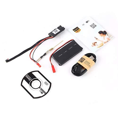 WiFi Camera DVR Module,Z5S Mini HD 1080P WiFi Camera DIY DVR Module Wireless Remote IP P2P Pinhole Camera Audio Video Monitor Security Nanny Webcam -