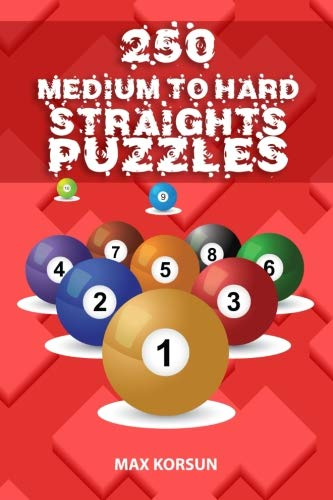 250 Medium to Hard Straights Puzzles por Max Korsun