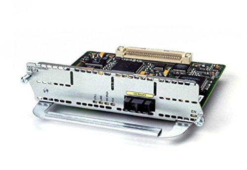 Cisco Module 1 x F + ENet 2SL VIC RJ45 Internal 0.1 Gbit/s Netzwerk Switch Component - Netzwerk Switch Components (0.1 Gbit/s, Any Network Protocol supprted by Main Cisco 2600, 3600 and 3700, 5,5e) (Cisco 2600)