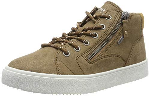 ESPRIT Damen Cherryzipbootie Hohe Sneaker, Braun (Toffee 225), 39 EU