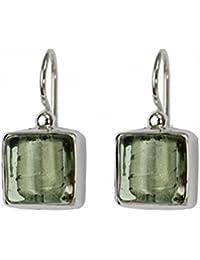 Gabriella Nanni, Earrings in 925 silver with Murano glass -