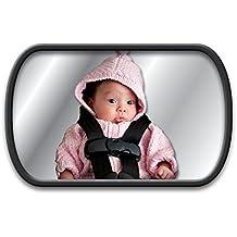 Asiento trasero Espejo para Bebés con 2variantes de fijación
