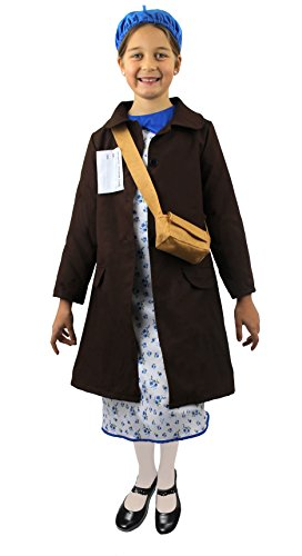 ILOVEFANCYDRESS I love Fancy Dress ilfd7041 m Girl 's Evacuee Kostüme ()