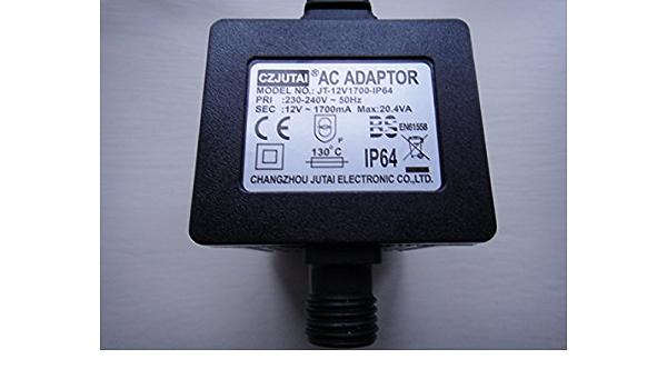 Czjutai 12 V Ac Adapter Jt 12 V1700 Ip64 Business Industry Science