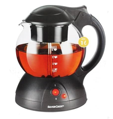 SilverCrest Elektrischer Teekocher max 650 Watt für bis zu 8 Tassen Tee