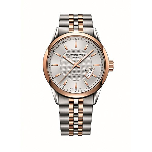 Raymond Weil Freelancer Automatic Silver Dial Two-tone Mens Watch 2730-SP5-65021