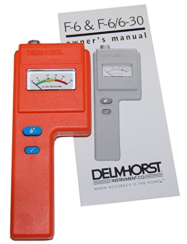 Delmhorst F-6 Analog Hay Moisture Meter by Delmhorst -