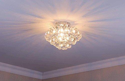 Saint mossi modern k crystal goccia di pioggia lampadario