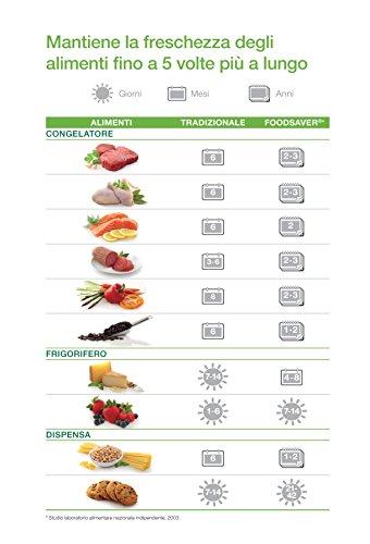 $ FoodSaver 48 Sacchetti Termosigillabili 20×29 cm per Sigillatrice per Sottovuoto comprare on line