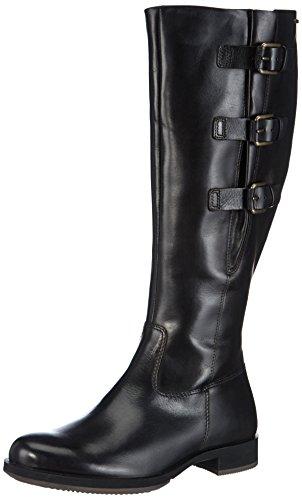 Ecco SAUNTER, Damen Halbschaft Stiefel, Schwarz (BLACK 21001), 40 EU (7 Damen UK)