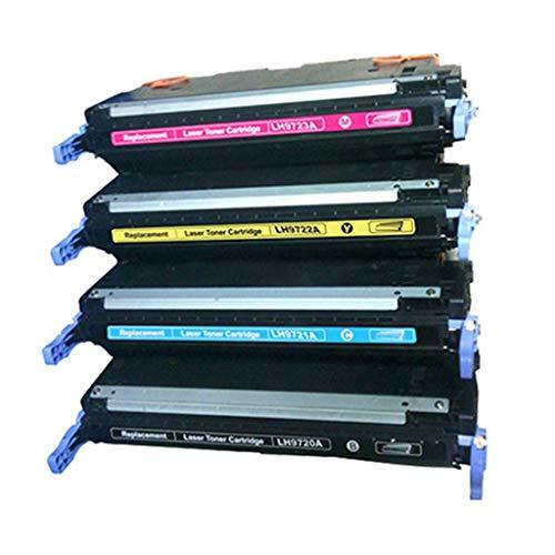 RSQGBSM Bürobedarf Laser-Farbdruckerzubehör kompatibel mit HP Hp641a Tonerkartusche Hp 4650dn / 4650dtn / 4650hdn / LBP 2510 Tonerkartusche -