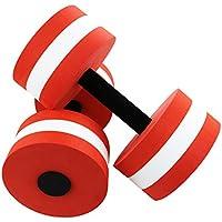 CRAZYON - Mancuerna de Espuma EVA para Ejercicios acuáticos, Color Rosso, tamaño 27 x