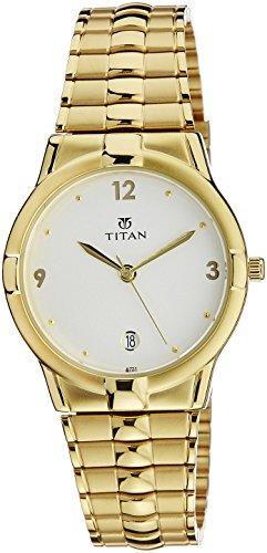 Titan Analog White Dial Men's Watch - NE9260YM01A image
