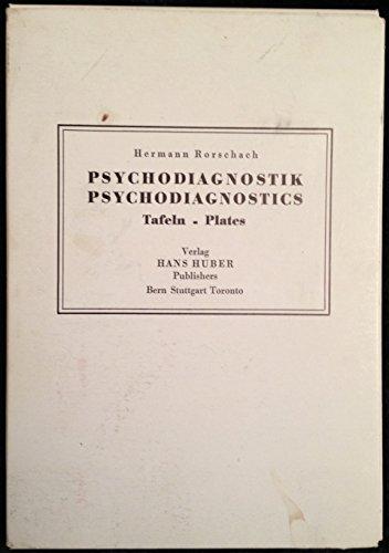 Distributor Plate (Psychodiagnostik / Psychodiagnostics - Tafeln / Plates)
