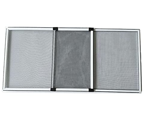 Flyzzz Adjustable Sliding Window Ventilating Screen, Aluminum Frame Anti Mosquito