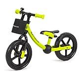 Kinderkraft 2Way Next Kinder Laufrad Lernlaufrad 12 Zoll Verstellbar ab 2 Jahre (grün)