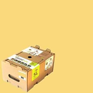 Paintbox Collection - Scatola pittura guscio d'uovo da 5 L, colore: Giallo aconito